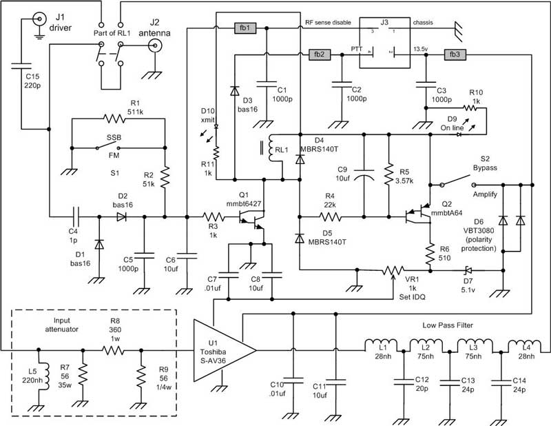 2 Meter 80w All Mode Amplifier